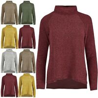 Ladies Womens Ex H/&M Knitted Long Sleeve Buttons Pullover Baggy Sweater Jumper