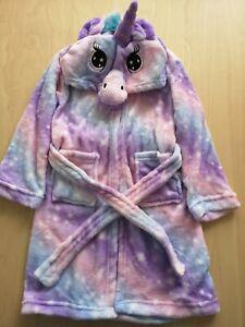 Clearance!!Kids Animal Fleece Night Bath Robe Dressing Gown Nightwear Loungewear