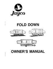 1986 Jayco Jay Cardinal King Thrush Dove Popup Trailer Owners Manual
