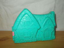 VINTAGE Disney Blanche Neige Maison miniature Mattel vide