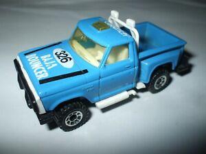 Matchbox Lesney Superfast #53 Flareside Pick Up blue RARE NO SIDE TAMPOS MINT!