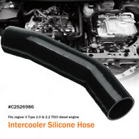 EGR INTERCOOLER TURBO BOOST HOSE SILICONE PIPE FOR JAGUAR X TYPE 2.0 2.2 TDCI