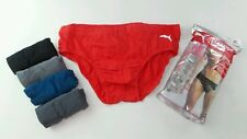 Puma Men's Athletic Low Rise Briefs 5 Pack Medium 32-34 Black Red Grey New w Tag