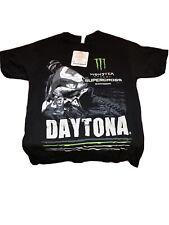 Monster Energy AMA Supercross FIM World Championship Daytona T-shirt Adult Small