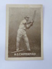 England Cricket Trading Cards 1930 Season