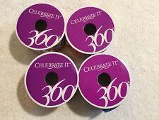 CELEBRATE IT 360 Ribbon. Lot Of 4 Spools. 3 Are NEW.