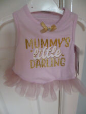 BNWT, LIGHT PINK TUTU FOR CHIHUAHUA, YORKIE etc FROM WAG-A-TUDE -  EXTRA SMALL