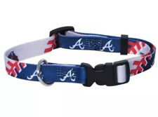 Atlanta Braves Adjustable Dog Pet Collar Large