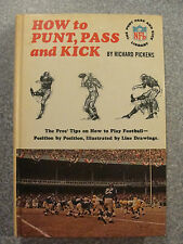 L#306  book- How to Punt, Pass, and Kick, Random House,  1965