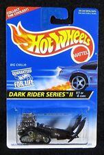 1996  Hot Wheels  Black Big Chill  Dark Rider Srs II   Card #400   HW-14-121317