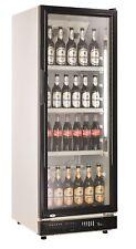 OW Getränkekühlschrank 230 Schwarz - Glastürkühlschrank - Flaschenkühlschrank