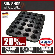 Made in Germany! Dr.Oetker Tradition 24 Cup Non-stick Muffin Pan! RRP $40.00!