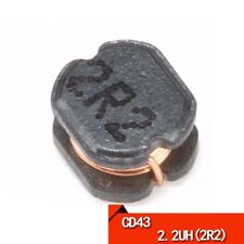 20PCS CD43 2.2UH(2R2) Wire-wound SMD/SMT Power Inductor/Inductance