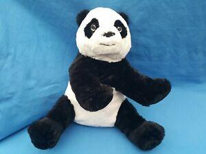 Panda Bear Kids Black White Cuddly Soft Plush Toy Stuffed Animal 30 CM