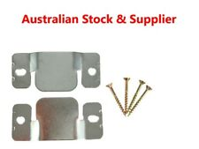 2 Pk Universal Sectional Sofa Connectors & 4 x Screws Australian Stock