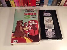 * Santa And The 3 Bears Rare Christmas Animation VHS 1969 Hal Smith Jean Vander