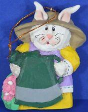 Eddie Walker Bunny Rabbit Garden Retired Midwest Cannon Falls Christmas Ornament