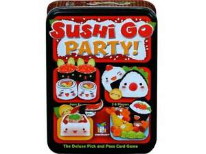Sushi Go Party! Board Game Tin Card Game (GWI419)