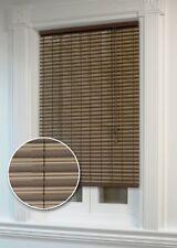 "NEW 1/4"" Oval Roll Up Roller Shades Window Blind Light Block 60"" X 72"" Cord Lock"