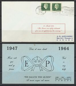 1964 Canada Day of Birth Cover #402 QE II Gives Birth to Prince Edward March10