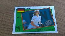Steffi Graf ROOKIE Sticker - Panini Supersport 1987 UK - Excellent Condition