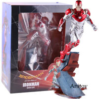 Marvel Spider-Man Homecoming Iron Man MK47 PVC Figure Collectible Model Toy