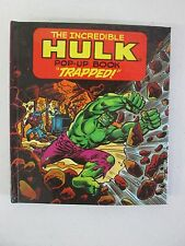 """1982 The Incredible Hulk Pop-Up Book """"Trapped"""" (1)"""