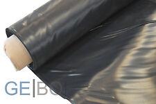 Teichfolie schwarz 0,5mm Rollenbreite 2 m Breite lfdm bis 25m am Stück möglich