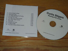 CURTIS STIGERS - HOORAY FOR LOVE / ADVANCE-ALBUM-CD 2014