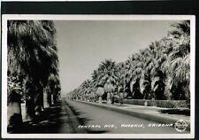 Central Ave, Phoenix, Arizona - Frashers RPPC postcard  (my lot #135)
