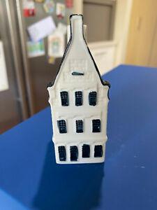KLM Bols Miniature Blue Delft House #31 Holland 2006 Unsealed