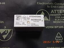 Rtd34012wg tensión de bobina Coil voltage 12vdc, 16a 250vac Schrack