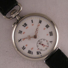 Fully Serviced Early ALL ORIGINAL M.F.C. 1900 Antique French Wrist Watch MINT