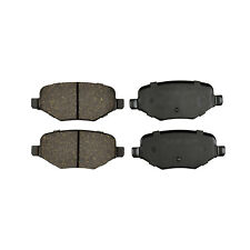 REAR New Premium Ceramic Disc Brake Pads Set Plus Shims Fits Ford KFE1377
