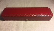 Cartier Authentic Red Jewelry Bracelet Box