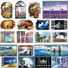 3D Waterproof Removable Iceland Window Scenery Wall Sticker Decals Poster Decor