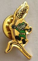 Mouse Wheat Small Pin Badge Rare Vintage Advertising (F9)