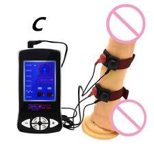 ***E-Stim Host Pulse Electro Shock Plug Rings Belt Urethral Therapy Device HOT**