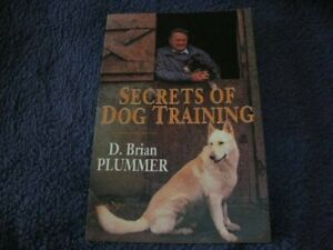 Secrets of Dog Training by Brian Plummer, David Paperback Book The Cheap Fast