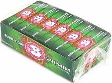 Bubblicious Watermelon Bubble Gum Candy Bulk 1 Box of 18 Count Five Piece Packs