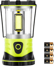 New listing LED Camping Lantern, 2500LM 4 Light Modes Camping Lights with Compass Battery Po