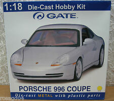 Gateway Porsche 996 Coupe Yellow Car Model Kit Die-Cast 1:18 Scale! New in Box