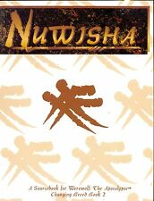 JDR RPG JEU DE ROLE / WEREWOLF THE APOCALYPSE TRIBE BOOK NUWISHA