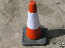 """NEW ROAD CONE 18"""" 450MM TRAFFIC CONE - PACK OF 25 ESSEX 01277222382"""