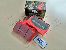 FOR MITSIBUSHI LANCER EVO 2.0 16V 1996- SALOON FRONT EBC RED STUFF BRAKE PADS