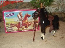 Big JIM/Barbie Cheval-Dallas + Box-Black Beauty/Fury-Cheval/Horse