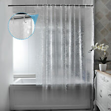 3D Translucent Thick Waterproof Mildew Partition Bathroom Eva Shower Curtain