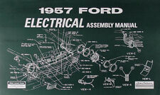 1957 Ford Electrical Assembly Manual Ranchero Fairlane Sunliner Retractable
