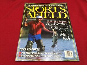 July 1992 Sports Afield Magazine~Deer Hunting, Rifles, Tricks to Catch More Fish