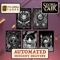 MTG Arena Code Secret Lair Unfathomable Crushing Brutality Sleeves INSTANT EMAIL